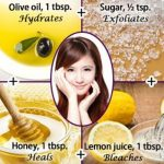 DIY Spa facial beauty home masks