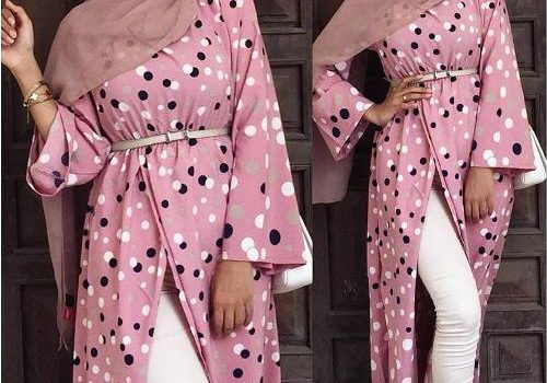 How to have a casual maxi look with hijab