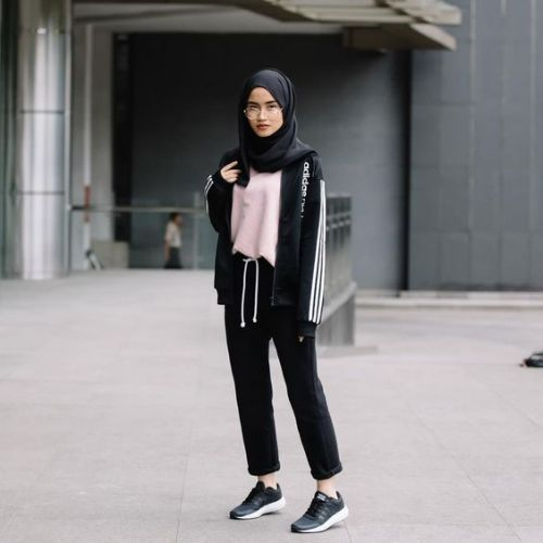 Hijab Outfits For The Gym Just Trendy Girls