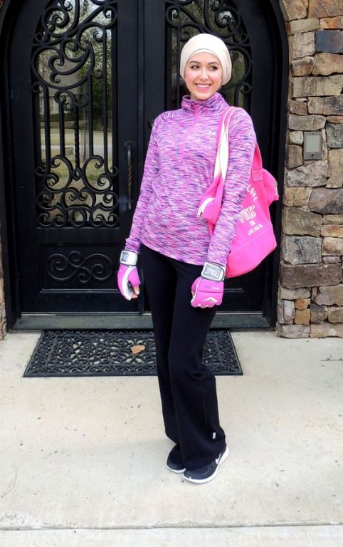 fine hijab workout outfit 11