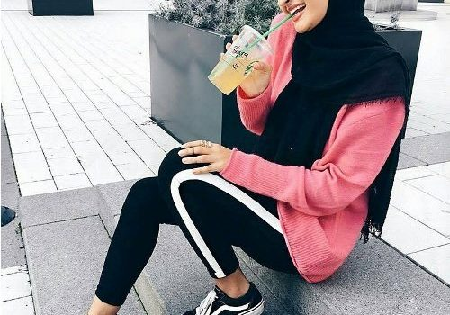 Hijab outfits for the gym