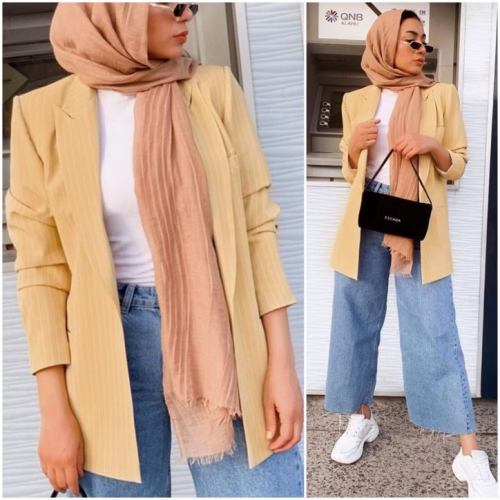 c913c54a98 Over-sized jean jackets are trending this season as well; wear it with long  tunic, slim jeans, and nice sneakers. Enjoy the collection and pick some  ideas.