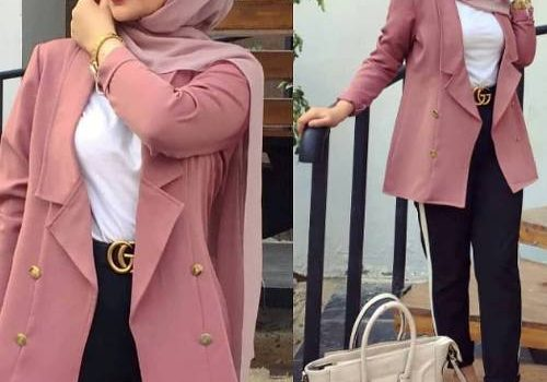 Formal and classic hijab outfits