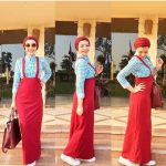 Cute casual hijab fashion