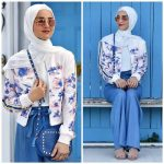 How to wear palazzo pants with hijab