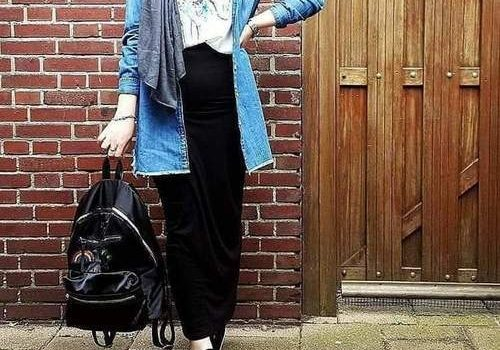 How to wear pencil skirts with hijab