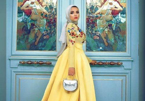 Hijab  soiree outfits for women