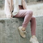 Girly stylish sneakers