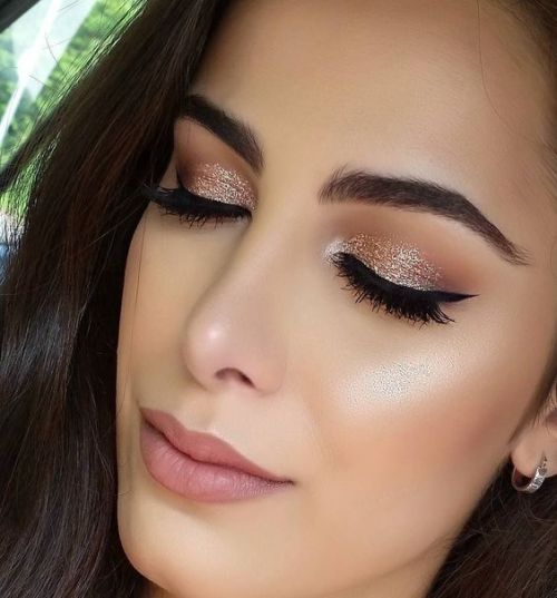 You can use metallic shadows in the inner portion of your eye led or in the center of the led for a hallow makeup look. These types of eye shadows are ...