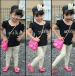Cute kids clothing styling ideas