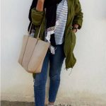 How to style the olive green outfits with hijab