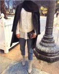 Winter hijab outfits in prude and style looks