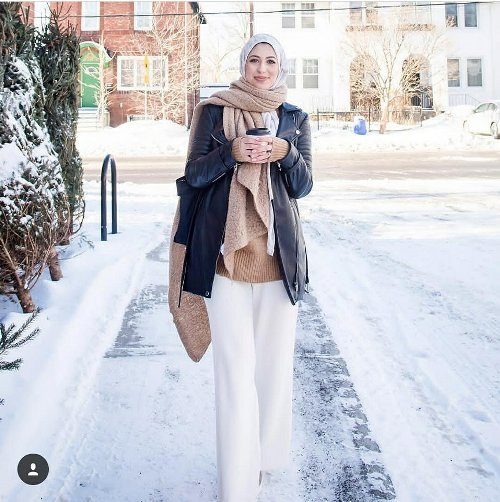 Street style inspirations for hijab | | Just Trendy Girls