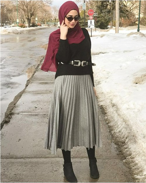 Pleated Maxi Skirts For Woman Just Trendy Girls