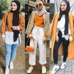 Mixing and matching hijabi outfits
