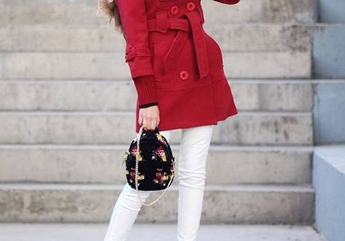 How to wear colorful hijab in winter