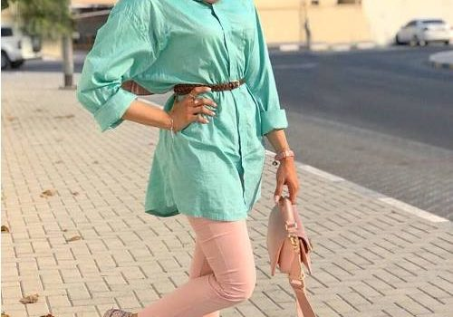 Casual Summer Hijab Clothing
