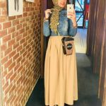 Summer maxi skirts with hijab