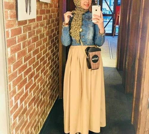 Summer Maxi Skirts With Hijab Just Trendy Girls