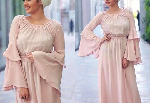 Maxi dresses with hijab styles