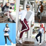 Sweatpants sporty hijab style