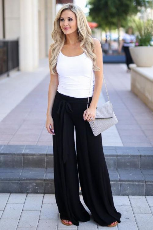 impactful palazzo pants outfit casual boys