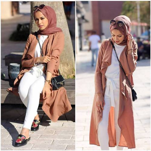 1f6cd08fed6d The veiled women can find her favorite styles and all the complement items  in many different hijabi looks. With a nice colorful scarf  you may balance  the ...