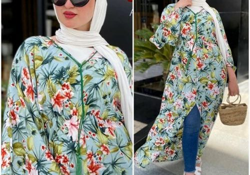 Casual hijab summer looks