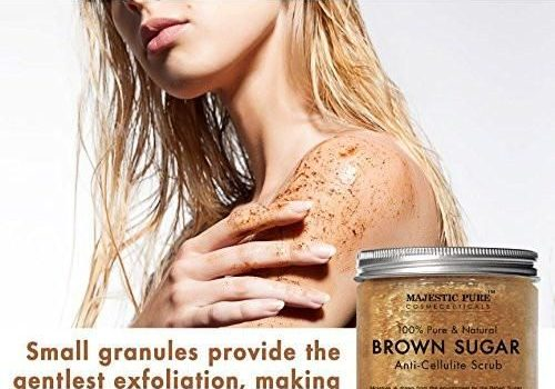 Homemade brown sugar exfoliations