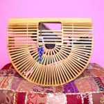 Bamboo clutch bags