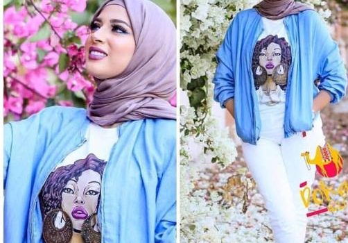 Hijab outfits in summer spirits