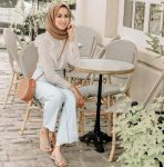 Street hijab style in summer