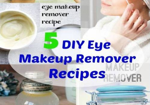 Makeup removals with natural ingredients