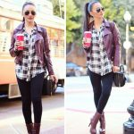 Leather moto jackets styling ideas