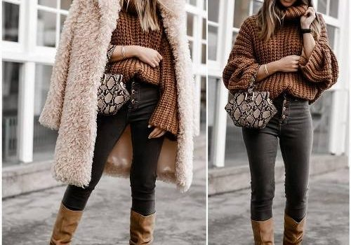 How to style long coats in winter
