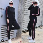 Sweat suits sporty hijab styles