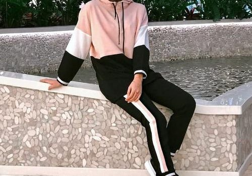 Sporty and casual hijabi looks
