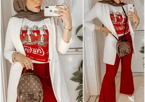 Cute hijab outfits for summer vacations