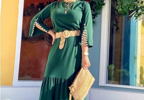 Wonderful Eid casual hijab style
