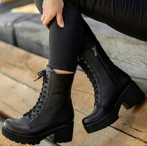 girls military style boots