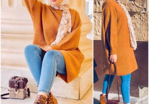 Hijab fashion looks in chic styles