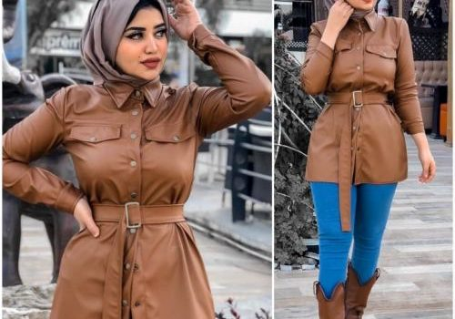 How to look chic and cozy in winter with hijab