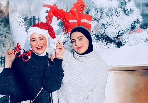 What the hijabi bloggers wore in Christmas?
