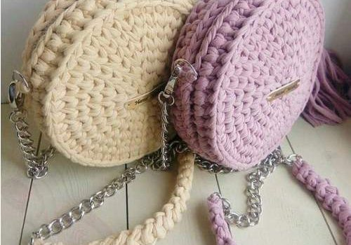 Crochet handbags in cute designs