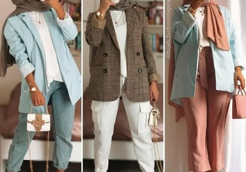 Summer work wear for hijabi women