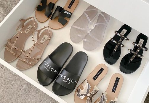 Fashionable sandals trend for 2020