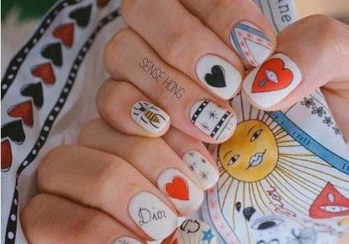 Nail art spring and summer trends
