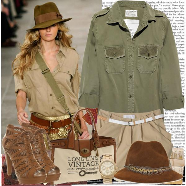 Top Safari inspirational outfits – Just Trendy Girls ZS28