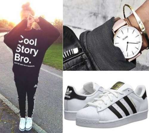 How To Style Your Adidas Shoes Just Trendy Girls