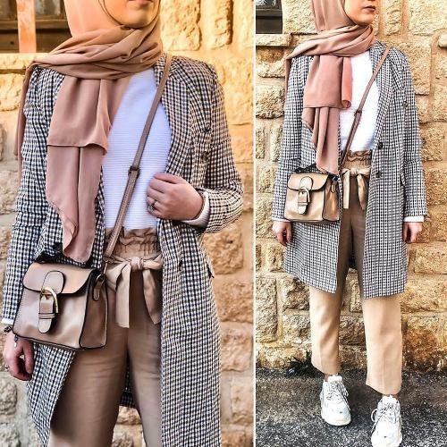 hijab style casual muslim fashion dresses